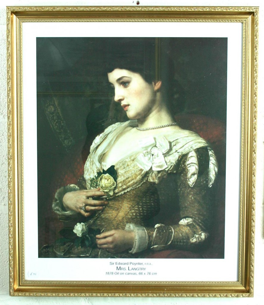 Reproduction-Print-Oil-on-Canvas-Sir-Edward-Poynter-Mrs-Langtry