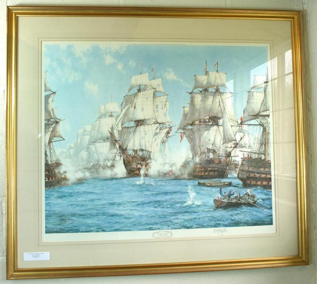 Signed-Print-Montague-Dawson-The-Battle-of-Trafalgar
