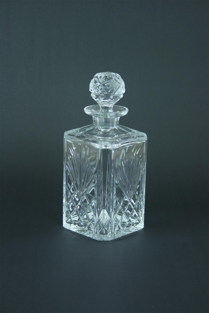 Square Edinburgh Crystal cut glass Decanter