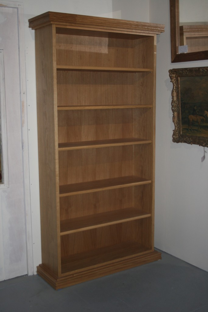 Hand Made Solid Oak Bookcase